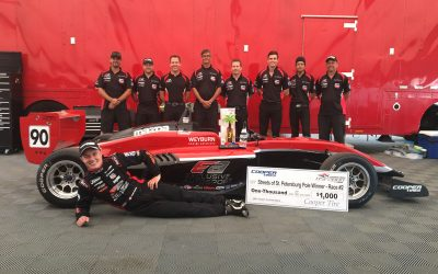 Parker Thompson Brings Home a Podium For Exclusive Autosport in Their USF2000 Debut