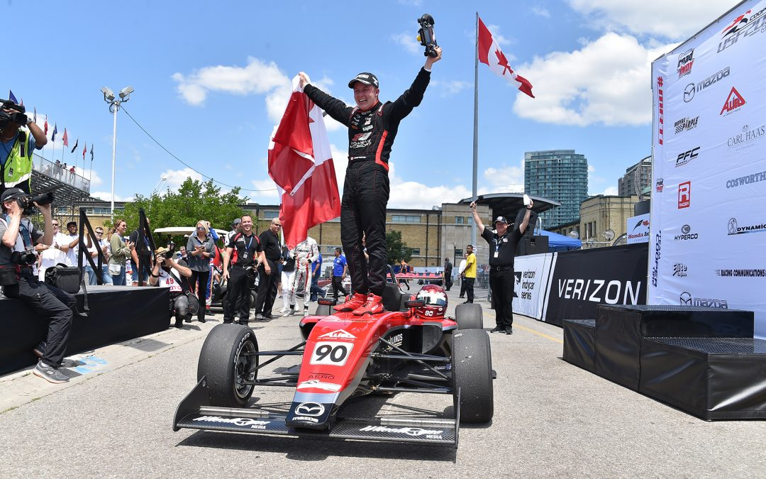 Thompson Sweeps Toronto With Maiden USF2000 Victories For Exclusive Autosport