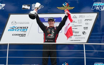Parker Thompson Earns Second Win to Maintain Pro Mazda Points Lead