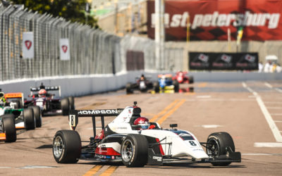 THOMPSON SCORES DEBUT INDY PRO 2000 VICTORY FOR ABEL MOTORSPORTS