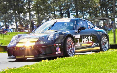 Parker Thompson Signs with 2018 GT3 Cup Series Champions as the Driver of the #3/JDX Racing/Hertz/Byers Porsche