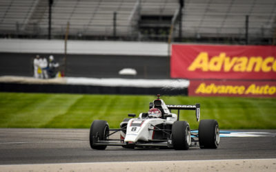 Thompson Overcomes Challenges in Qualifying To Finish 5TH in Indy Pro 2000 Races In Indianapolis Grand Prix