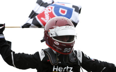 Thompson Earns His First Sports Car Win in a Wet Weekend at Mid-Ohio