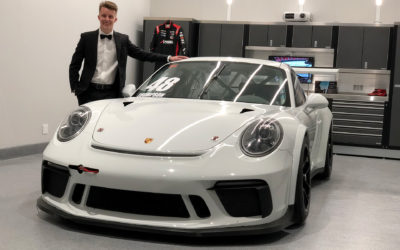 Thompson Joins SportsCarBoutique to Take on the Porsche GT3 Cup Challenge Canada