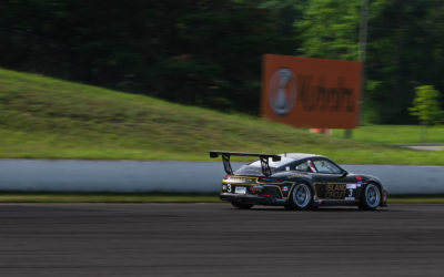 Thompson and SportsCarBoutique Maintain Course in Action Packed GT3 Cup Weekend at CTMP