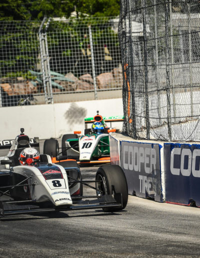 Parker Thompson & Rasmus Lindh - Indy Pro 2000