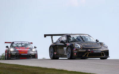 Safe Finishes for Thompson in Chaotic Continental GT3 Cup Weekend at Road America