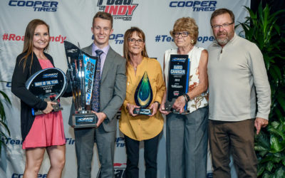 Thompson Recipient of Four Awards at The Road To Indy Championship Celebration